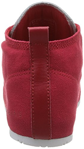 Eleven Paris Baswhite, Baskets mode mixte adulte Rouge (Red)