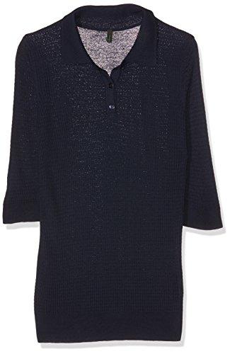 United Colors of Benetton Damen Poloshirt Blau (Navy)
