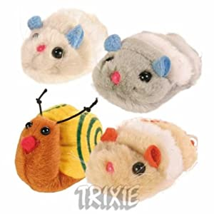Wriggle Wind up toy for Cats, Cat by Trixie