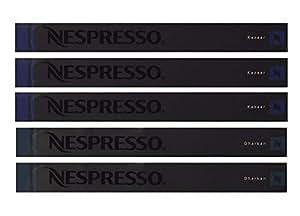 Nespresso -Kazaar- Paquet de 50 capsules (5 Etuis) , Intensité 12 , Neuf 2013