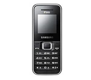 Samsung E1182 Silver Duos - Dual Twin 2 Sim Card Mobile Phone