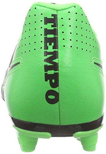 Nike Tiempo Rio Ii Fg, Scarpe da Calcio Uomo Multicolore (Mehrfarbig (Black/Black/Green Strike/Green Strike))