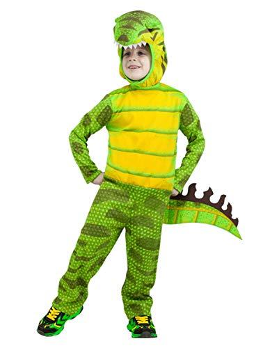 Rex Kleinkind T Kostüm - Horror-Shop T-Rex Dino Kleinkinder Kostüm für Fasching L