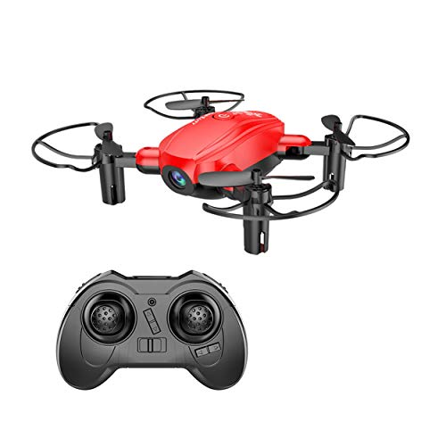 Lorenlli D10WHD Stilvolle Drone WiFi Quadcopter Drone Mobile Fernbedienung 0.3MP HD Kamera Headless Modus Hubschrauber