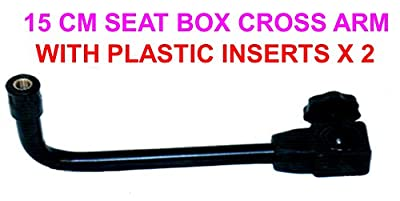 15CM SEAT BOX CROSS ARM WITH 2 x PLASTIC INSERTS from GRANDESLAM