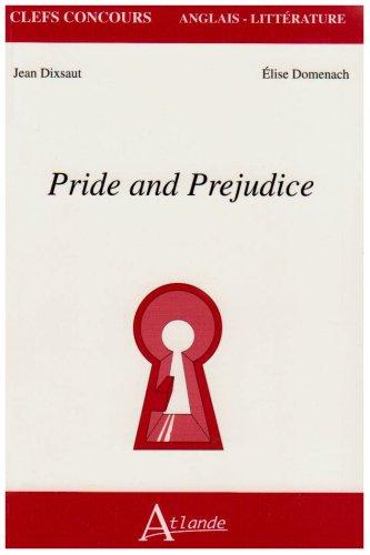 Pride and Prejudice par Jean Dixsaut, Elise Domenach
