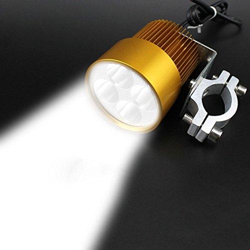 G-Lighting® 20W LED Scheinwerfer DIY Lampen Motorrad E-Bik 12V-85V Gold