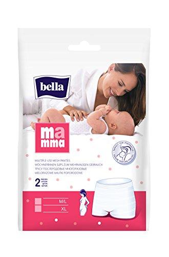 Bella Mamma Wöchnerinnen Slip M/L 80-120 cm, 4er Pack (4 x 2 Stück)