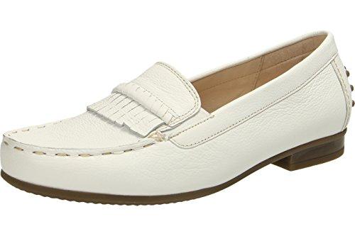 Gabor 62.434.50 50, Mocassini donna bianco bianco Bianco
