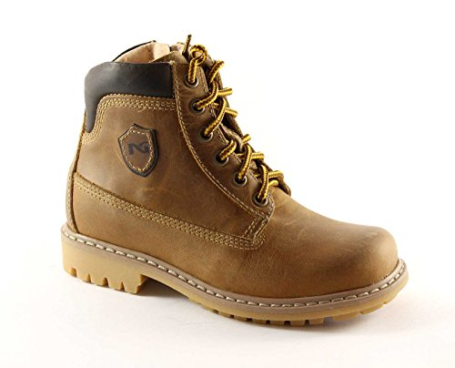 NERO GIARDINI JUNIOR 35/39 3400 chaussures bébé bottes zip Marron
