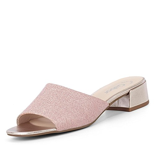 Gabor Mules Pour Femme rosé/metallic