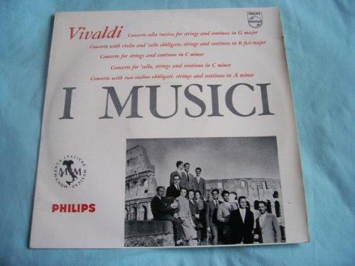 ABL 3233 I MUSICI Vivaldi Works LP 1958