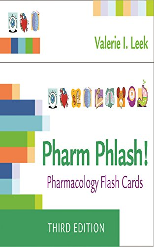 Pharm Phlash! Pharmacology Flash Cards (English Edition) eBook ...
