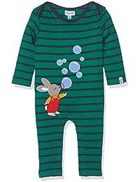 Lilly and Sid Bunny Bubbles Applique Playsuit, Combinaison Bébé Garçon