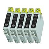 5 Druckerpatronen Tinte für Epson Stylus D68 D88 DX3800 DX3850 DX4800 DX4200 ersetzen T0611