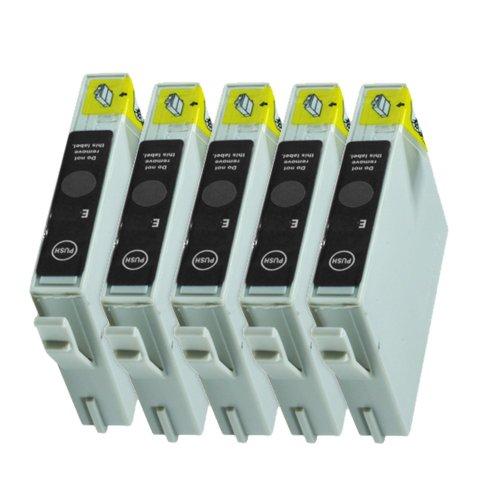 epson stylus dx4200 5 Druckerpatronen Tinte für Epson Stylus D68 D88 DX3800 DX3850 DX4800 DX4200 ersetzen T0611
