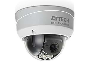 AVTECH AVM-542, outdoor dome IP camera 2Mpx, varifocal lens f2.8-12mm, IR 50m Solid Light, WDR