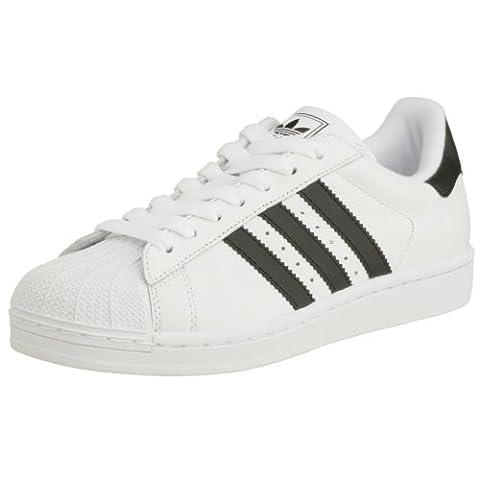 adidas Superstar Ii, Basket mode homme - blanc/noir/blanc, 44 EU