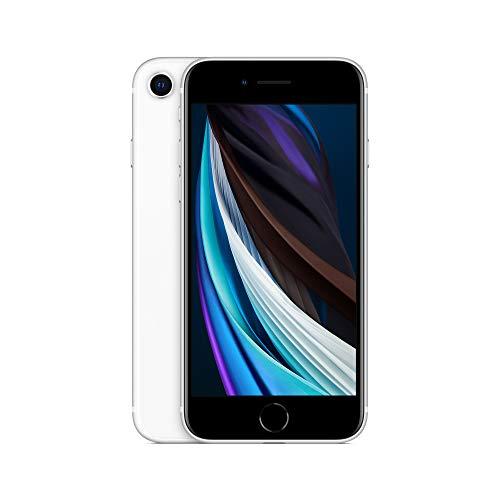 Oferta de Apple iPhone SE (256GB) - en Blanco (Incluye Earpods, Adaptador de Corriente)