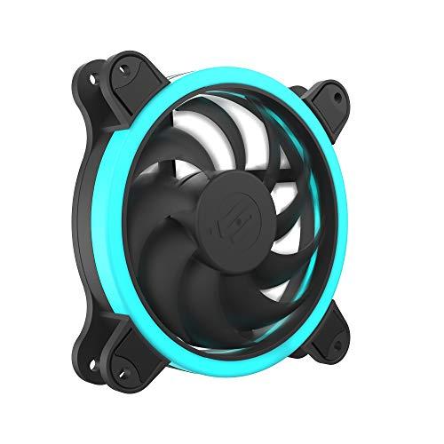 SilentiumPC Corona HP RGB 120 Gehäuse Lüfter (12V, 3 PIN + 4 PIN [RGB], 1500 U/min) -
