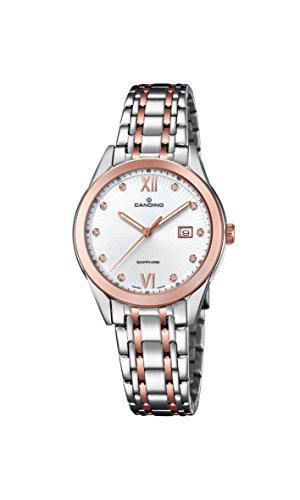 Candino Womens Analogue Classic Quartz Watch with Stainless Steel Strap C4617/2