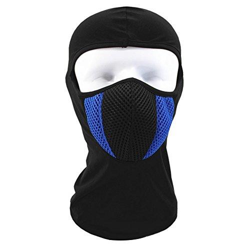 San Bodhi Outdoor Motorrad Helm Kapuze Ski Sport Hals winddicht Staubdicht Gesicht Maske