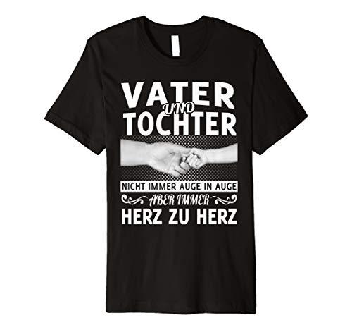 Vater Tochter Und Kostüm - Vater und tochter nicht immer auge in auge t-shirt