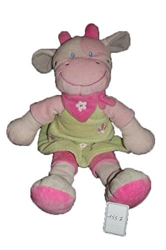 Kiabi–Doudou kitchoun Kiabi Nicotoy vaca rosa vestido...