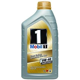 Mobil 1 FS 0W40 153672 Motorenöl Synthetic, Gold, 1L