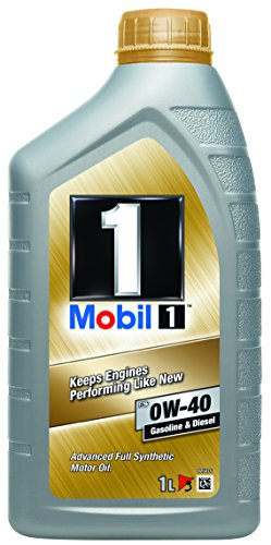 Mobil 1 FS 0W40 153672 Motorenöl Synthetic, Gold, 1L