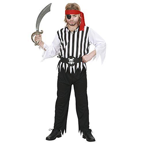 Schiff Kapitän Kostüm Junge - Piratenkostüm für Kinder Gr. S =