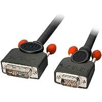 Lindy 41198 Cavo Adattatore DVI-A/VGA, 5 mt,