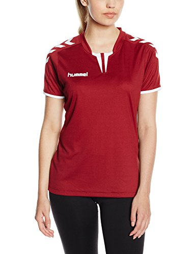 Hummel Damen Trikot Core Short Sleeve Jersey, Maroon, L, 03-649-3055