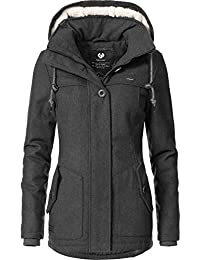 7eef919fcfb7 Ragwear Damen Wollmantel Wintermantel Winterparka Like You 6 Farben XS-XL