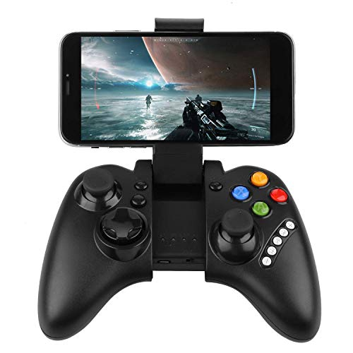 Powerlead 9021 Wireless 3.0 Fernbedienung Joystick Gaming Controlleri kann für Android Smartphones Tablets PC Samsung Galaxy S9 / S9 Plus Note8 / HUAWEI P9 / P10, OPPO R11S / A7 - Playstation Fantasy 2 Final