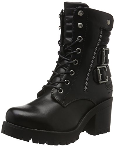 Dockers by Gerli Damen 37CE206-610 Combat Boots, (Schwarz 100), 37 EU
