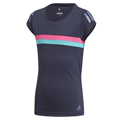 adidas Mädchen Graphic Club Kurzarm T-Shirt, Legend Ink, 128