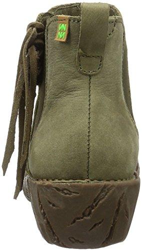 El Naturalista Damen Nf97 Pleasant Kaki / Yggdrasil Chelsea Boots Grün (KAKI N22)