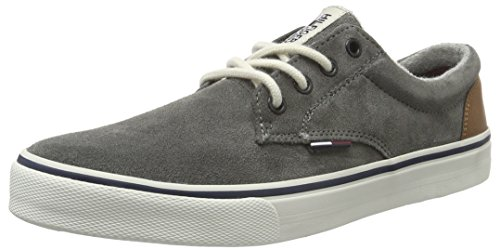 Tommy Hilfiger V2385Ic 1B1, Scarpe Low-Top Uomo, Grigio (City Grey (096)), 41 EU