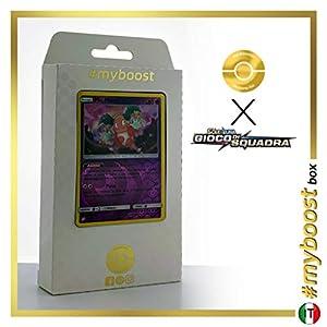Mr.Mine 66/181 Holo Reverse - #myboost X Sole E Luna 9 Gioco di Squadra - Box de 10 Cartas Pokémon Italiano