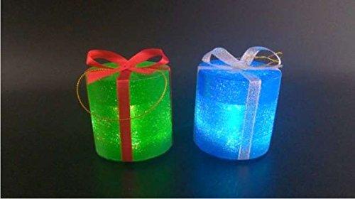 4x Farbwechsel batteriebetrieben LED Light Up Drum Lichter Dekoration