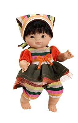 """- Paola Reina 8 """"muñeca asiática chica de rosa por paola"""