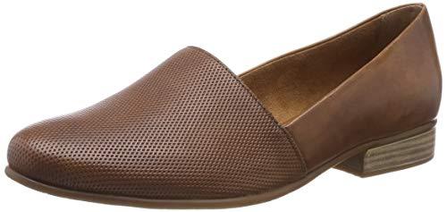 Tamaris Damen 1-1-24216-22 Slipper, Braun (Cognac 305), 37 EU