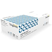 100 x Vinyl Disposable Gloves, MEDIUM NON-Powdered Blue (free P&P on all products)