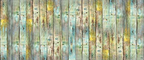 Vilber Gran Chef Wood Alfombra, Vinilo y PVC, 75 x 180 cm