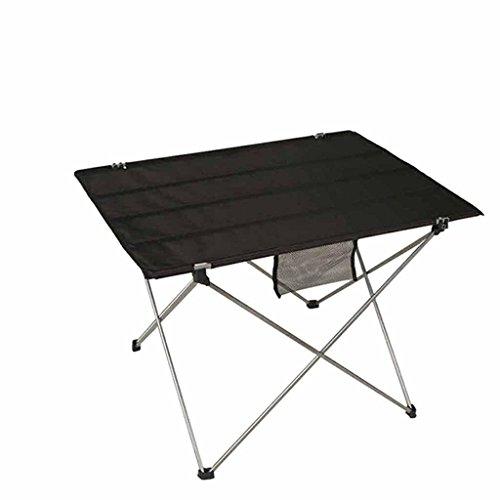 xd-mesa Esstisch Klapptisch Aluminium-Abhang-Freizeit-Outdoor, gun color aluminum alloy 6063 - La Mesa Esstisch