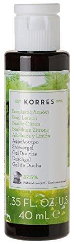 Korres Basil Lemon Shower Gel (40ml)