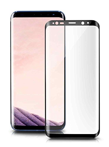 House of Quirk Samsung Galaxy S8 Tempered glass screen protector Edge To Edge Anti-Scratch guard