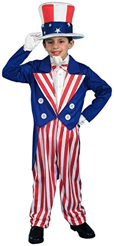 Costume Child Uncle Sam Medium (Kostüme)
