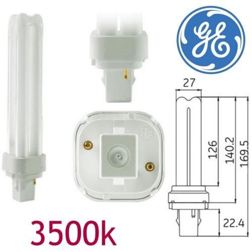 GE 35251, 26 W, energiesparend, 2 PIN, 3500 K, neutralweiß G24q - 3 2P, 3500 K, PLC PL Lampe Lampen F26DBXT4 SPX 35/83/5, (DE) -